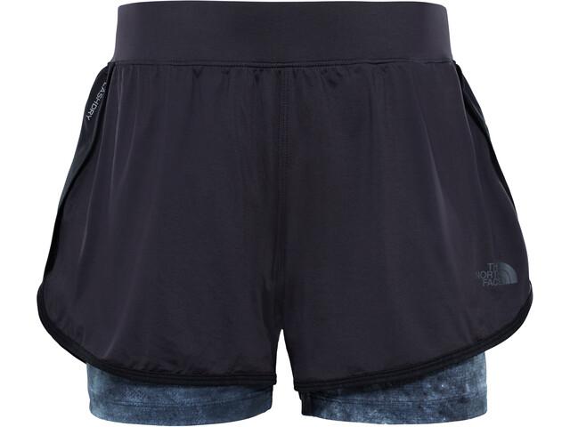 The North Face W's Versitas 2in1 Shorts TNF Black/TNF Black Chalk Print